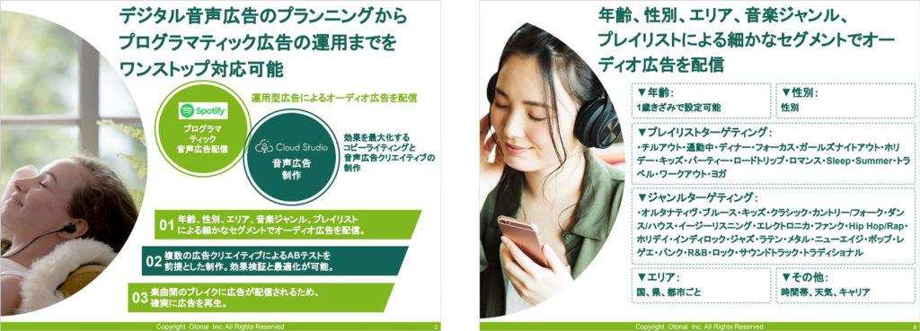 Spotify音声広告forクラウドスタジオ