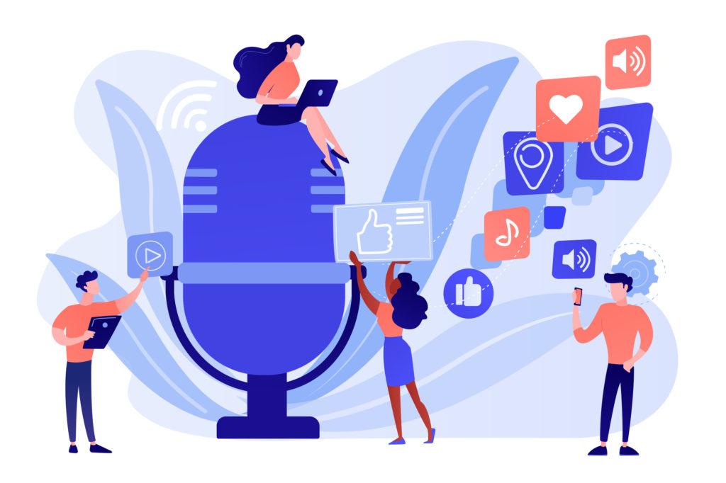 音声コンテンツの未来とは?音声メディアが切り開く音声市場