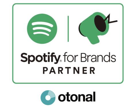 オトナル、Spotifyの広告パートナープログラム「Spotify for Brands PARTNER」認定を取得