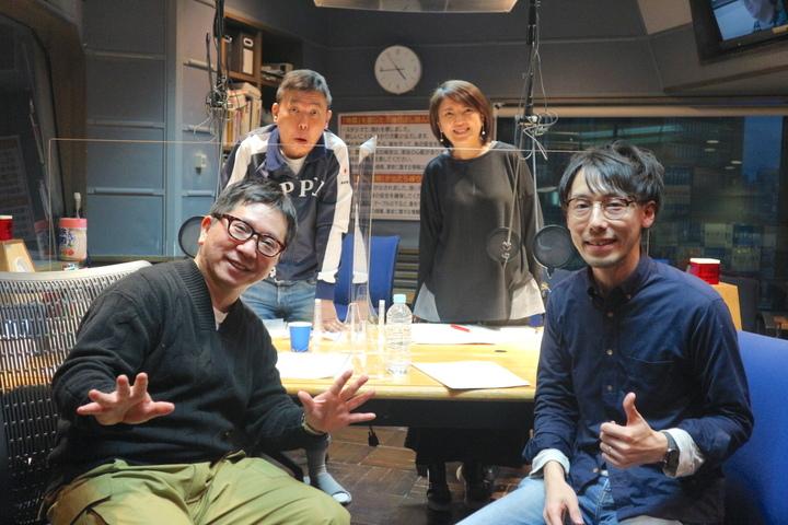 TBSラジオ爆笑問題の日曜サンデーにオトナル代表八木太亮が出演